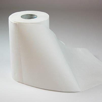 Zellstoff Reinigungspapier Mini-Rolle