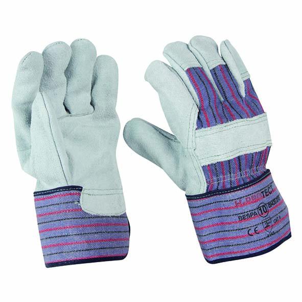 Spaltleder-Handschuhe extra stark