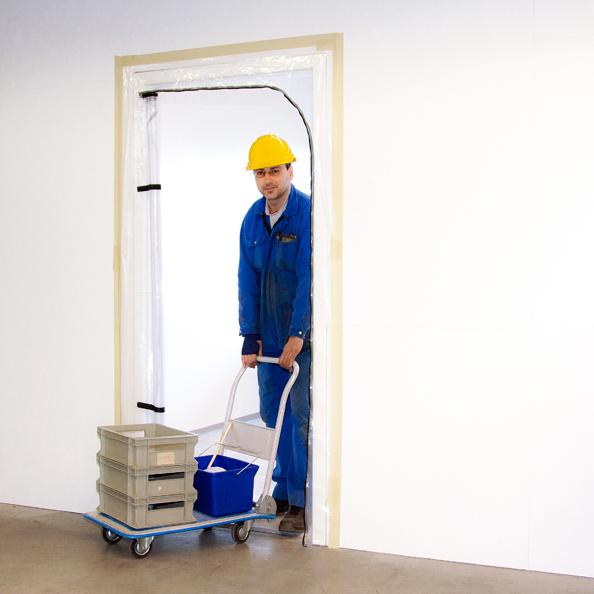 """Folientüre mit Reissverschluss """"Zip-Door"""""""