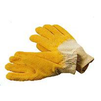 Latex-Handschuhe teilbeschichtet